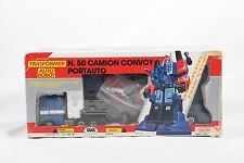 Diaclone GIG Powered Convoy MIB Transformers Ultra Magnus G1 RARE Red & Blue Cab