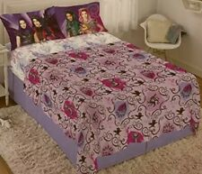 Disney Descendants 3 - Soft Microfiber Sheet Set - Full Size - 4 Piece - Bedding