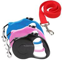 16.4 ft Pet Dog Cat Puppy Automatic Retractable Traction Rope Walking Lead Leash
