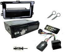 VW Passat (B5 / B6) 05-15: STEREO head unit Radio Kit Bluetooth + comando dello sterzo