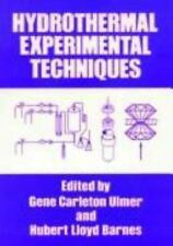Hydrothermal Experimental Techniques, ,0471821454, Book, Good