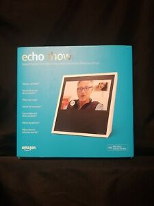 Amazon Echo Show WHITE Alexa 1st Gen MW46WB Smart Assistant