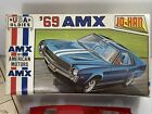 Vintage+Jo+Han+1969+American+Motors+AMX+1%2F24+Scale+Model+Kit+Unassembled+Amt