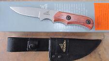 GERBER FREEMAN CAPING FIXED CAPER KNIFE PEAR WOOD G7172 NEW BOX