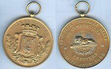 Médaille de prix - VERVIERS 31° fête fédérale Belge gymnastique 1908 d=50 mm