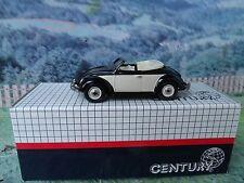 1/43 CENTURY  (France)  VW Hebmuller cabriolet  white metal