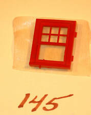 CLASSIC LIONEL TRAIN ITEM #145-18 GATEMAN SHACK WINDOW MOLDED & FROSTED GLASS!!!