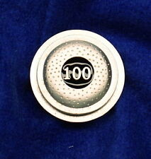 "Empire Pewter ""100 Straight"" Clay Pewter Pin"