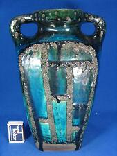 70´s design Ruscha Keramik  vase unusual shape & glaze variation 66 / 1   1 Chip