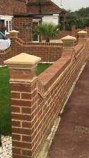Cast stone pier caps 1 brick pillar 225mm X 225mm