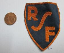R.S.F. Rayon Sportif Féminin Rare Insigne Fédération Sportive Féminine 1929/1937