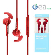 Auricolari Originale Samsung EO-EG920BR IN-EAR FIT Hybrid Cuffie Stereo +Mic Red