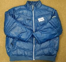 Indianapolis Colts Reebok Onfield Blue Puffy Jacket Coat Mens XXL NFL Luck