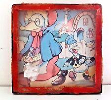 Antiguo Vintage Hand Held Destreza Habilidad Juego de puzzle-madre Patos Gansos/
