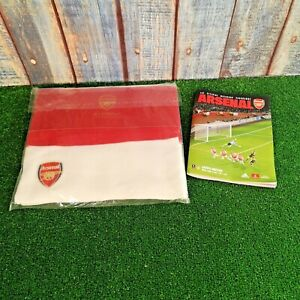 Arsenal Matchday Experiences Scarf and Programme