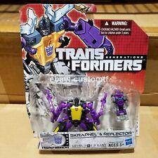 Hasbro Transformers Generations IDW 30th Sharpnel Reflector Legends *B4