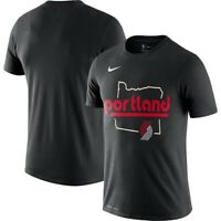 Nike NBA Mens Portland Trailblazers City Edition Series Dri T-Shirt Medium NEW