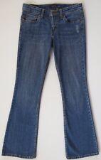"Levi's 518 Superlow Flare Distressed Blue Stretch Denim Jeans 3 X 30"" Levis"