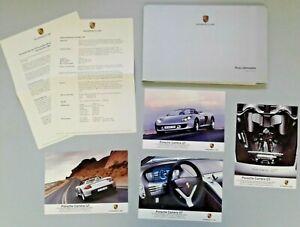 Porsche Presseinformation Modelljahr 2001, CD, 4 Carrera GT Pressefotos, engl.
