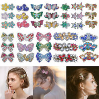 3pcs DIY Full Drill Diamond Painting Hair Clip Barrette Hairpin Headwear Gifts