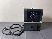Vintage Lathem Heavy Duty Time Clock Model 2121 No Key