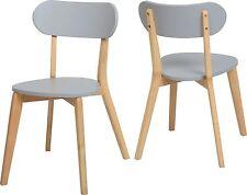 Scandinavian Chair Dining Room, Black, Grey, White, Julian Style - PAIR
