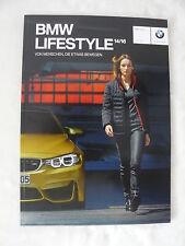 BMW Lifestyle M Kollektionen 2014-2016 - Katalog Prospekt Brochure 09.2014