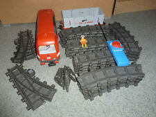 Playmobil ferrocarril similar a 4010 paquete completo con raíles