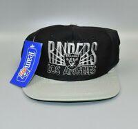 Los Angeles Raiders AJD NFL Vintage 90's Snapback Cap Hat - NWT
