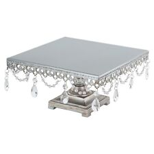 Square Cake Stand Vintage Metal Cupcake Wedding Event Party Display Tower Plates