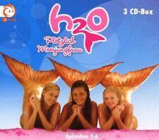 H2O-PLÖTZLICH MEERJUNGFRAU - BOXSET 1! FOLGEN 1-6 3 CD KINDER HÖRSPIEL NEU