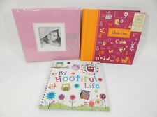 Baby Girl Scrapbook 20 Pre-Designed  Pages Embellishments Add Photos Owls