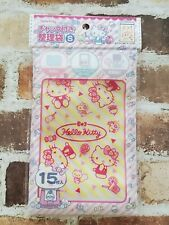 New SANRIO Hello Kitty Zip bag with zipper S 15P sweets pattern Free Shipping JP