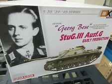 DRAGON  #6417   1/35th SCALE GEORG BOSE StuG 111 Ausf.G EARLY PRODUCTION