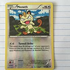 POKEMON FATES COLLIDE MEOWTH 74/124