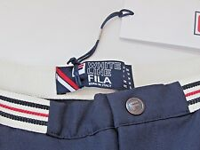 NEW & Tags Limited Edition FILA White Line 1980's Vintage Style Tennis Shorts