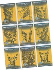 """Babylon 5 Profiles - 9 Card """"Optic Nerve"""" Chase Set  ON1-ON9 - Skybox 1999"""
