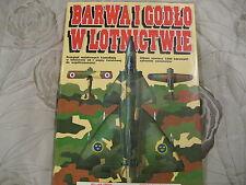 BARWA  I  GODLO  W  LOTNICTWIE     POLISH BOOK  POLAND RADOM