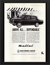 """1963 ISUZU BELLEL 2000 SPECIAL DELUXE A3 FRAMED PHOTOGRAPHIC PRINT 15.7""""x11.8"""""""