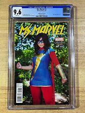 Ms Marvel #1 (2016 Marvel Comics) Cosplay Variant CGC 9.6