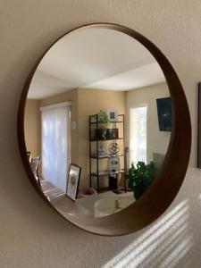 Circle Mirror Brown