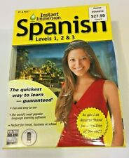 Instant Immersion Spanish Language Learning Set Levels 1, 2 & 3 Eurotalk Costco