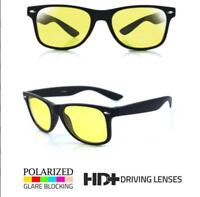 Night Vision HD UV 400 Protection Driving Glasses Sports Riding Goggles Eyewear