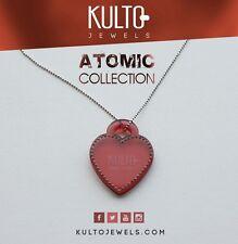 Collana Rosè Kulto Jewels con Cuore Rosso Necklace