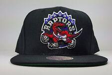 Toronto Raptors Mitchell & Ness Solid Wool Vintage Logo Snapback Hat Cap NBA