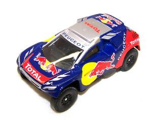 Modellauto Peugeot DKR 2008 Red Bull  Rallye Dakar Maßstab Auto 1:64 Neu OVP
