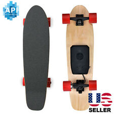 NEW Electric Skateboard 350W Hub Motor Bluetooth Remote Maple Deck Longboard