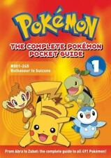 The Complete Pokémon Pocket Guide: Vol. 1 by Media Staff and Jungle Factor Staff