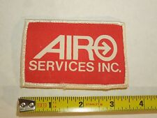 Airo Services Inc. Company Business Logo Iron On Patch