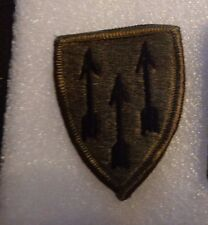 ARMY PATCH, DEFENSE ATOMIC SUPPORT AGENCY ,EARLY SUBDUED